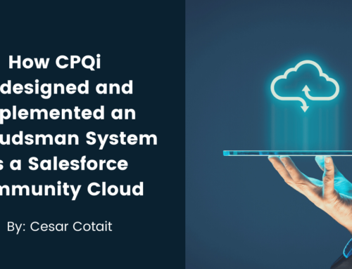 Implementing an Ombudsman System as a Salesforce Community Cloud