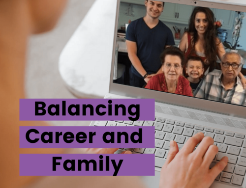 Balancing family, parents, and an executive career