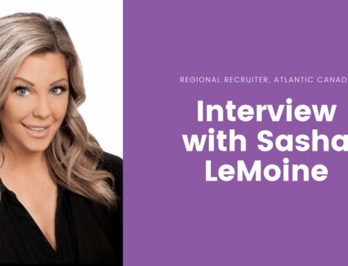 Interview with Sasha LeMoine